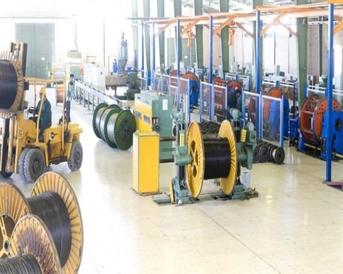 مراحل تولید سیم و کابل برق