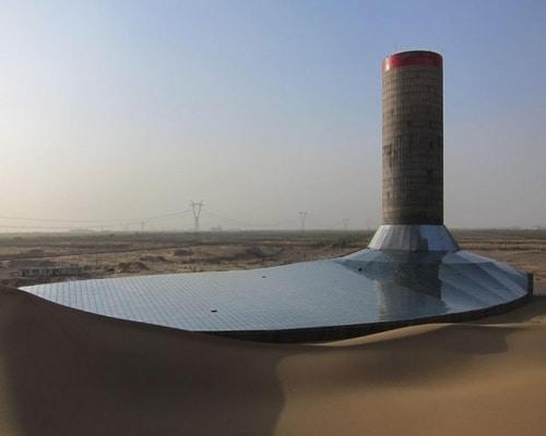 تولید برق با انرژی خورشیدی